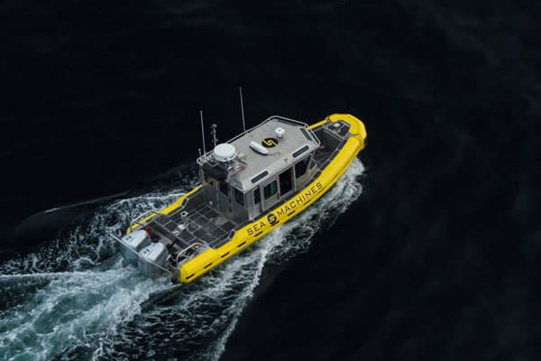 Sea Machines autonomous workboat