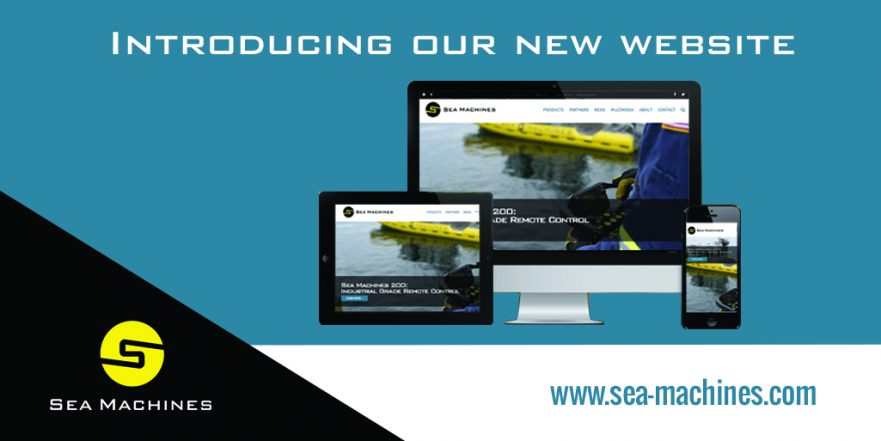 Sea Machines New Website